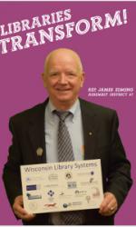 Rep Edming Libraries Transform Poster