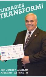 Rep Mursau Libraries Transform Poster