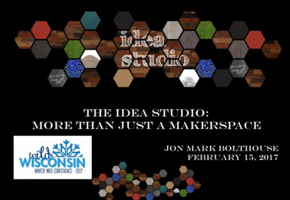 More Than Just a Maker Space: Webinar Recording