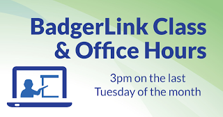 Badgerlink Class: Brush up on Badgerlink topics and resources