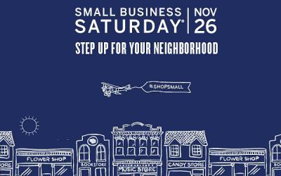 Small Business Saturday: Shop Small November 25