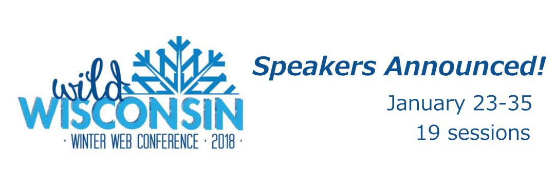 Wild Wisconsin Winter Web Conference 2018 January 23-25 2018 19 sessions