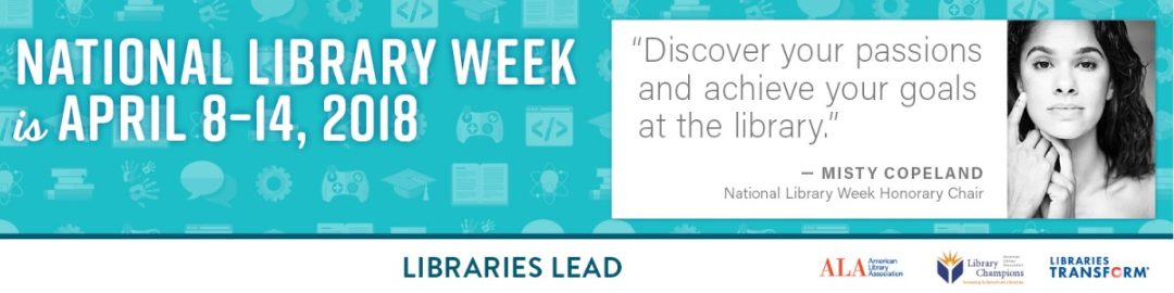 National Library Week Coming Soon