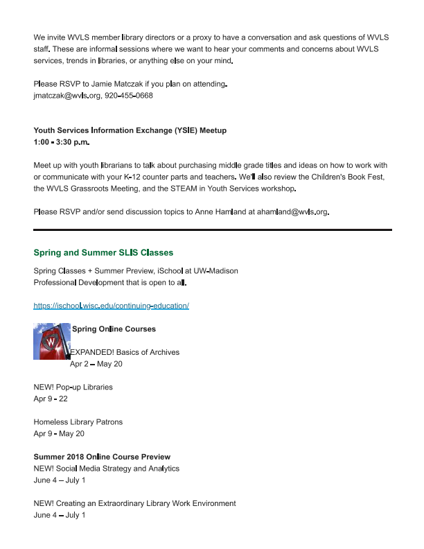 WVLS March Newsletter Now Available_004