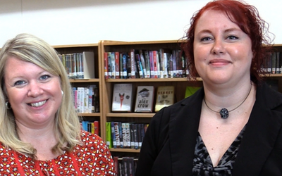 WVLS Partners with Northern Waters Library Service