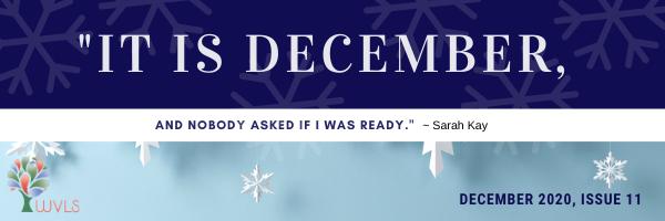 WVLS December Newsletter Available