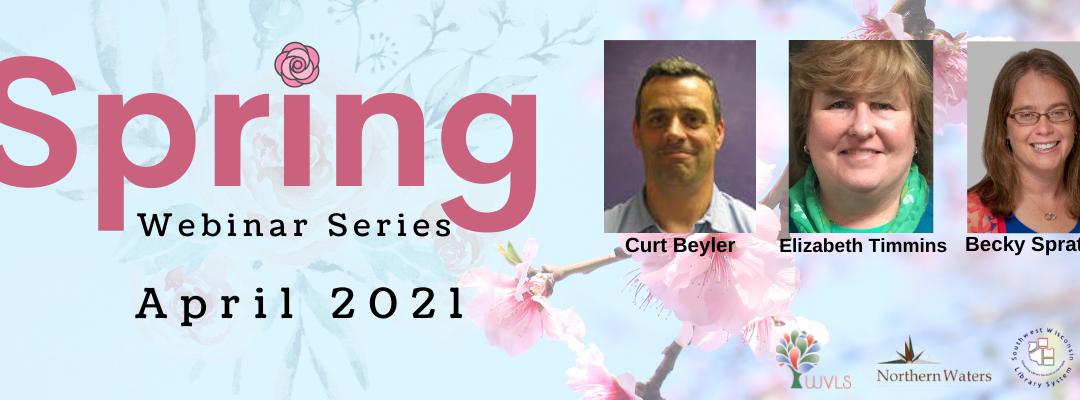 Spring Webinar Series on Public Services